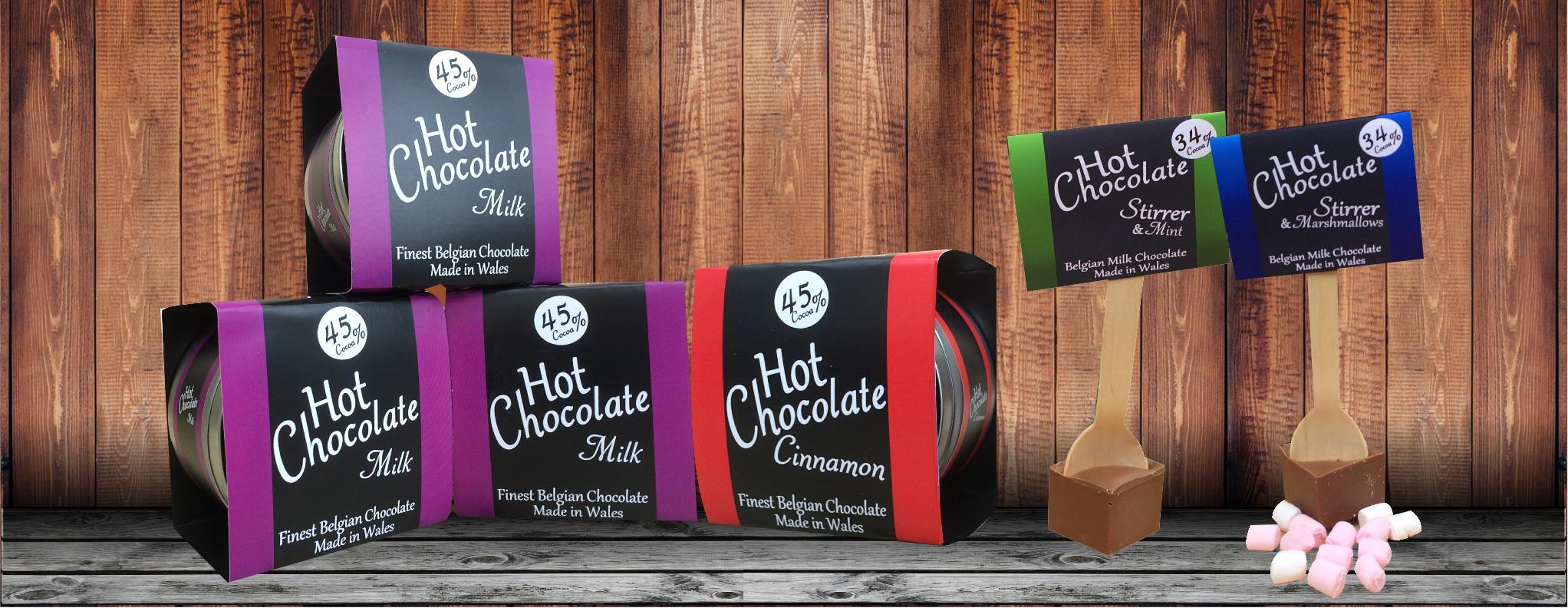 luxury hot chocolate, premium hot chocolate, welsh hot chocolate, retail hot chocolate, unusual hot chocolate